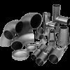 Детали трубопроводов и фитинги стальные