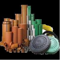 Трубы, фасонные части и изделия для канализации