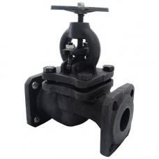 Клапан запорный чугунный Ду50 Ру25 фланцевый 15кч16п1 ЗАЗ