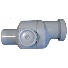 Клапан обратный Дн50 серый безнапорный в комплекте 4 HL