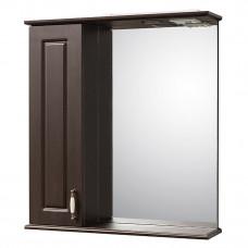 Зеркало Лаура-60 венге шкаф слева артикул 7237-30L Орио