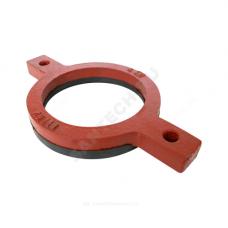 Кольцо опорное чугун SML Ду 125 с гальванизированной резиной FP PREIS 21139