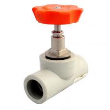 Клапан PP-R серый запорный Дн32 Firat Plastik