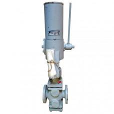 Клапан двухседельный с МЭО-4/25-025 25с201нж 25с201нж Ду25
