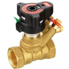 Клапан запорно-измерительный ASV-BD Ду15 ручной с ниппелями 003Z4041 Danfoss
