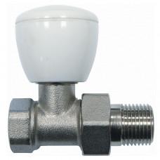 Клапан запорный Ду15 прямой для радиаторов Ogint