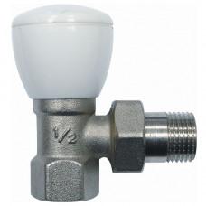 Клапан запорный Ду15 угловой для радиаторов Ogint