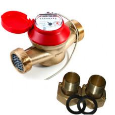 Счетчик для горячей и холодной воды ОСВУ-32 ГД Ду32 Ру16 Т90С в комплекте универсальный ПК Прибор