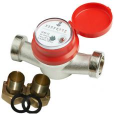 Счетчик для горячей и холодной воды ОСВУ-32 Ду32 Ру16 Т90С в комплекте универсальный ПК Прибор