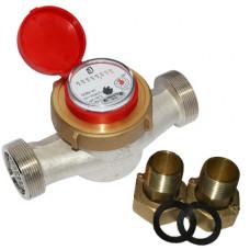Счетчик для горячей и холодной воды ОСВУ-40 Ду40 Ру16 Т90С в комплекте универсальный ПК Прибор