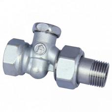 Клапан запорный Ду15 угловой R14X033 Giacomini