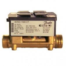 Расходомер SONO1500CT Ду15 Qn1,5 резьбовой для холодной воды 087-8098P Danfoss