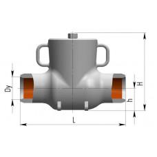 Клапан обратный 4с-3-1, 4с-3-2, 4с-3-3, 4с-3-4, 4с-3-5 4с-3-1