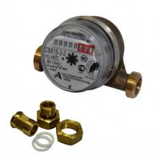 Счетчик для горячей воды СВК-15-3-2 Ду15 L=110 Ру10 Т90C в комплекте Арзамас