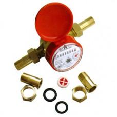 Счетчик для горячей воды СВК15-1,5 Ду15 L=110 Т90C в/к5 обр кл БАЗ