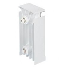 Радиатор комбинированный TENRAD AL/BM 150/120 1-секция артикул TNRD.AL/BM 15/1