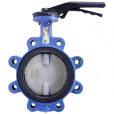 Затвор дисковый поворотный VP3649 Ду100 Ру16 межфланцевый Tecofi