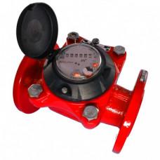 Счетчик для горячей воды ВСГН-150 Ду150 Т150С фланцевый Тепловодомер