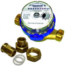 Счетчик для холодной воды ВСХ-15 Ду15 L=110 Ру16 Т50C в комплекте Тепловодомер