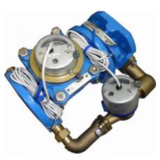 Счетчик холодной воды импульсный ВСХНКд-50/20 Ду50/20 Ру16 Т50С фланцевый Тепловодомер