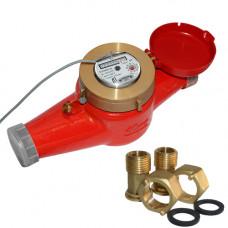 Счетчик для горячей воды с импульсным выходом ВСКМ 90-40 ГД Ду40 Ру10 Т120С в комплекте ПК Прибор