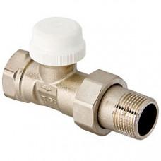 """Клапан термостатический для радиаторов прямой 1/2""""; артикул VT.032.N.04 VALTEC"""