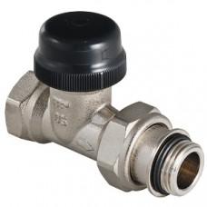 """Клапан термостатический для радиатора прямой с преднастройкой (KV 0,1-0,6) 1/2""""; артикул VT.038.N.04 VALTEC"""