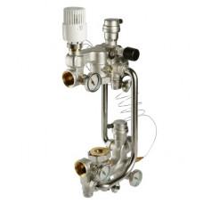 Насосно-смесительный узел с термоголовкой, без насоса, монтажная длина насоса 180 мм артикул VT.COMBI.0.180 VALTEC